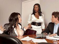 Boob Science: Bigger in size than standard Tit Boss Lady
