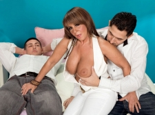 Two Loads For A Big-Boobed Cougar